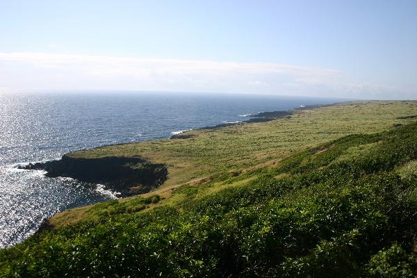 ハワイ島の海岸風景2
