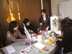 板橋フラワーデザイン教室 プリザーブドフラワー フレッシュフラワー(生花)