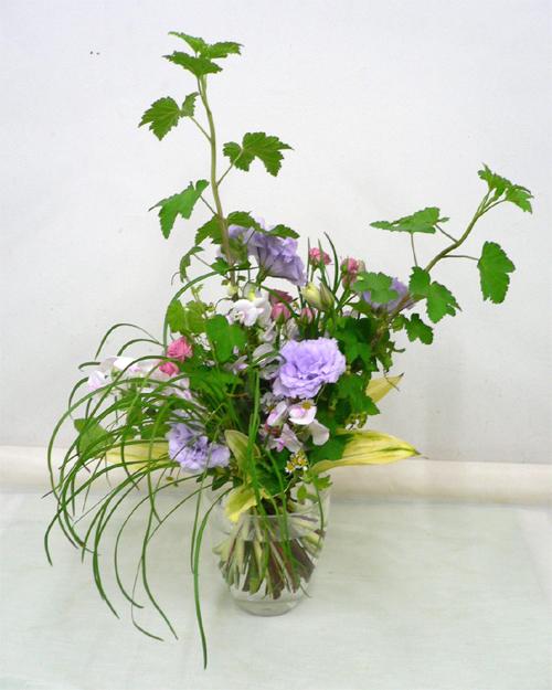 非対称の花束