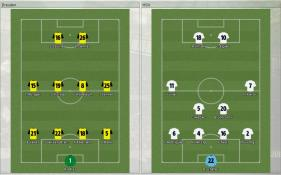 Dresden 対 HSV (プレビュー_ ラインナップ)