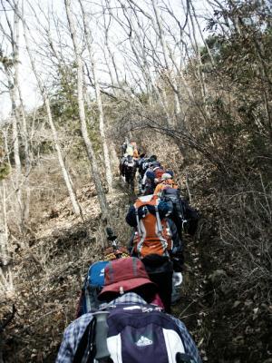 20120311熊山修了登山