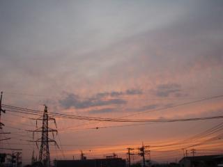 20111017朝焼け