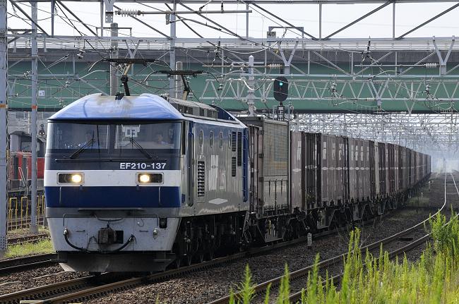 1057レ EF210-137号機