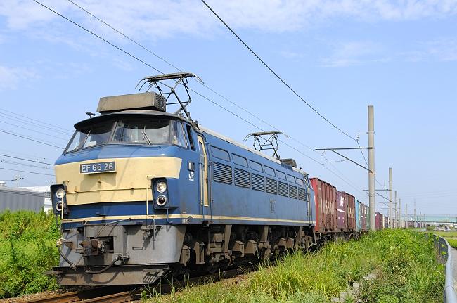 1062レ EF66-26号機