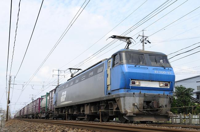 8056レ EF200-19号機