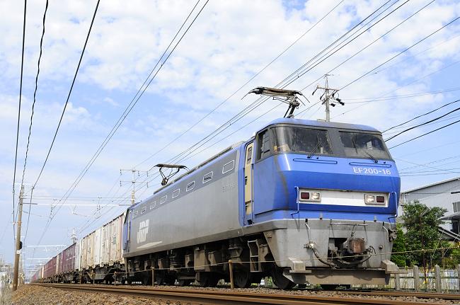 8056レ EF200-16号機