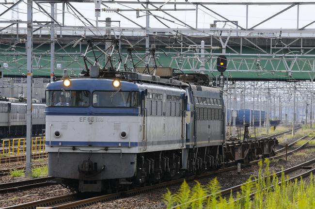 8865レ EF65-118+EF66-37(ムド)