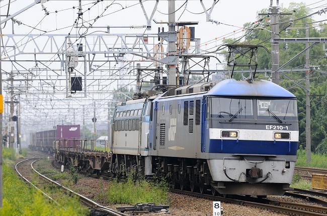1250レ EF210-1+EF66-7