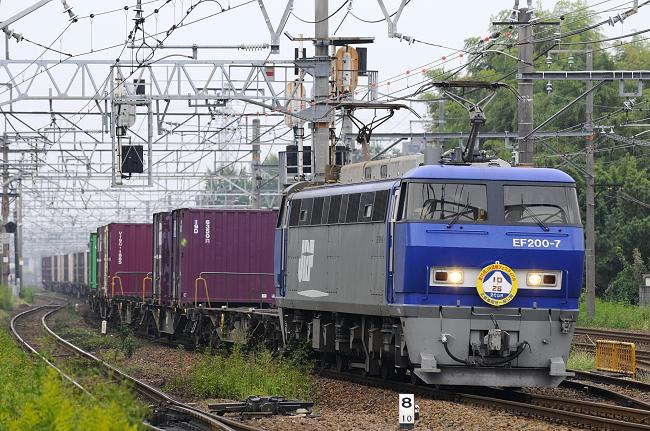 7051レ EF200-7号機HM♪