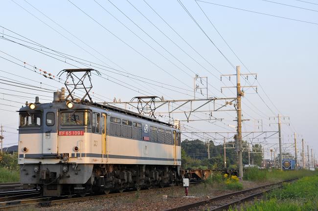 1554レ EF65-1091号機