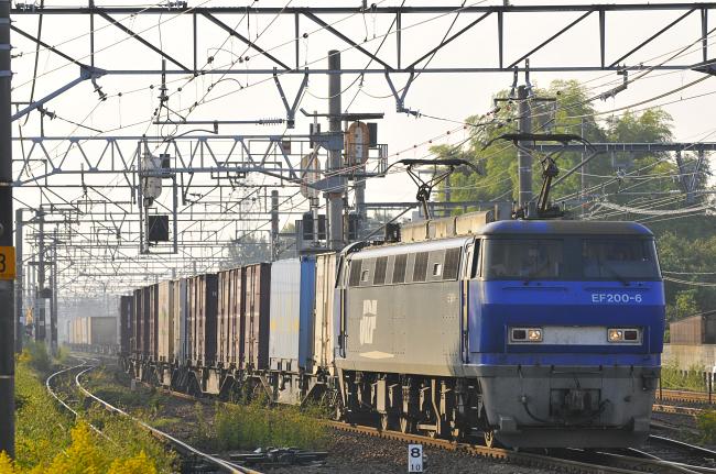 1055レ EF200-6号機