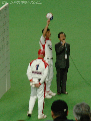勝利投手・津野!