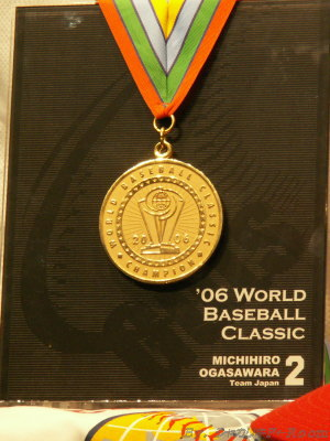 栄光のゴールドメダル!