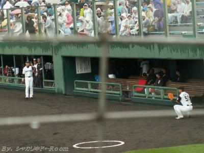 唯一キャッチボールに出てきた木元&小田@ベンチスタート