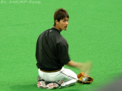 練習中のダル…カワイイ(*´∀`)