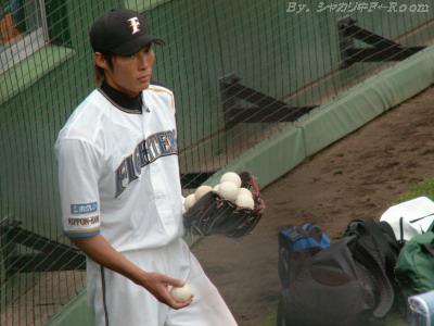 野手としては新米w
