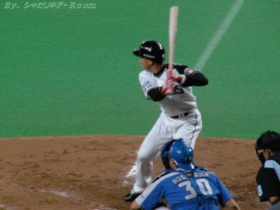代打・小田…1打席で世界のマツザカを攻略するのは難しい(ーΩー;)