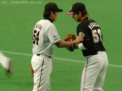 稲田vs塀内…50番台組(背番号が)