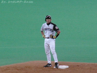 祝・プロ入り初猛打賞!のイナさん(*´∀`)ヤッター!