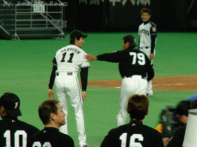 島田コーチもHR打っちゃった♪