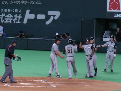 シーズン中は見られなかった、小田ムラン(・∀・)出タ!