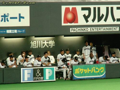 見てる選手達も、思わず笑顔(*´∇`*)