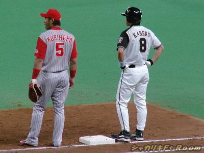 エラーした人とエラーで出塁した人の気まずい2Sw。