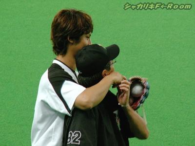 ダル、平野コーチ好きよね~w