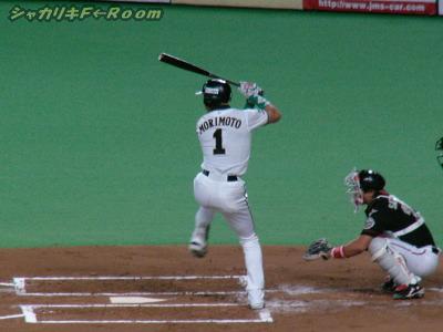 いやらしく四球出塁のヒッチョン…チャンス!