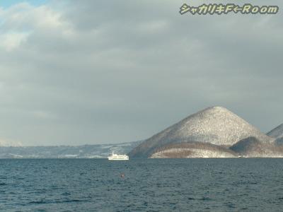 洞爺湖+中島…ちょっぴり観光ポイ事もしてみたんじゃ。
