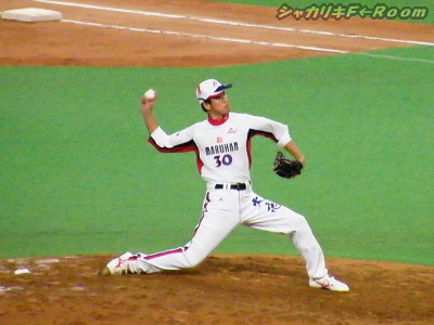 全試合登板で防御率は脅威の0.00!津野さん(´▽`) ←元ハムっ子