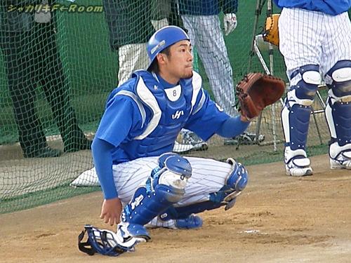 相川が受けているのは、番長の球ではないのだ。