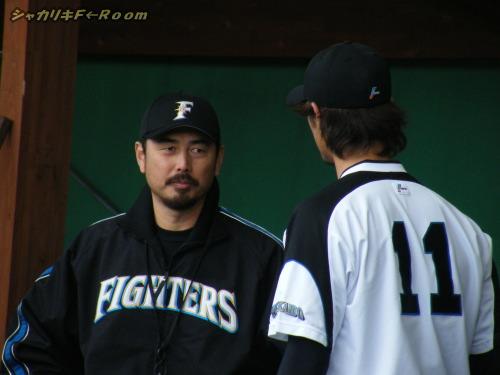 吉井コーチからアドバイス?