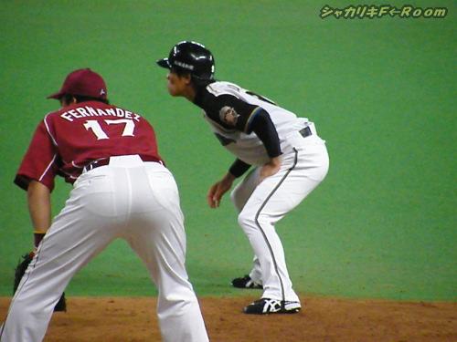 DHに入った小田ちゃんいもヒット!