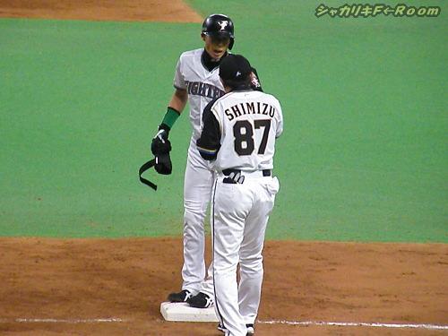 全打席出塁のヒッチョン…でも、得点1orz