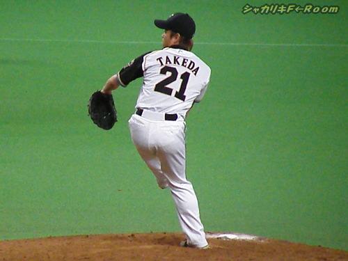 2番手・久さんは、2イニングをピシャリ!