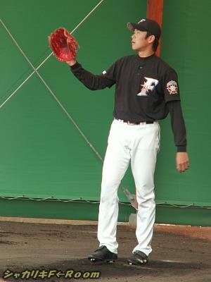 ハムではキャンプでの姿が見納めになった、正田。