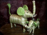 090630  ジュートの象さん 001