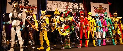 仮面ライダーとマジレンジャーが大集合