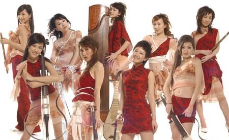 中国女性ユニット「音楽猫(ムジキャット)」