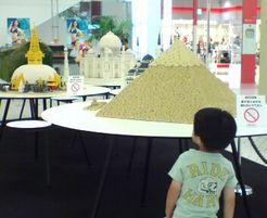 レゴの世界遺産展