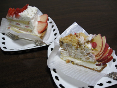 ケーキ♪1