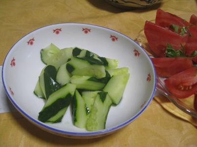 きゅうりを収穫3