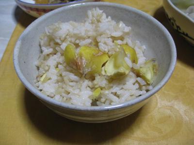 栗ご飯リベンジ1