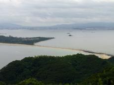 潮見展望台からの眺め