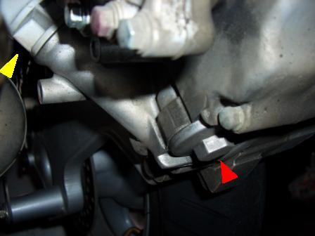 RV125JP エンジンオイル注入口