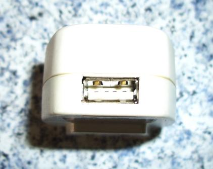 ダイソーUSB充電器 #04