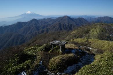 不動ノ峰からの眺め