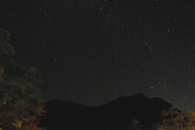 穂高の星空