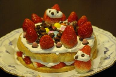 2011年のクリスマスケーキ